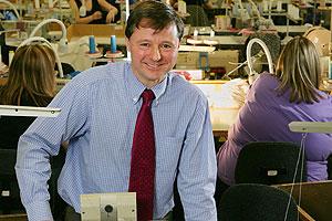 Christoper Nieper, Managing Director of David Nieper